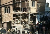 ۶ مصدوم بر اثر انفجار ساختمانی در اسلامشهر +عکس