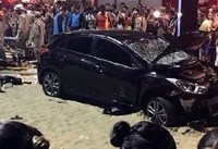 کشته و زخمی شدن ۱۱ نفر در برزیل در پی ورود خودرو به داخل جمعیت