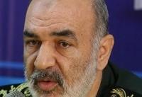 سردار سلامی: در حال تعقیب دشمن تا شرق مدیترانه و دریای سرخ هستیم