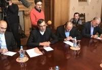 مذاکرات جابریانصاری و میخائیل بوگدانف در مسکو