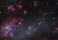 عکس| تصویر نجومی روز ناسا: زایشگاه ستارگان در ابر ماژلانی بزرگ