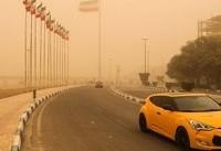 غلظت گرد و غبار در سوسنگرد ۶۶ برابر حد مجاز شد