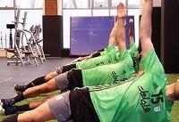 اتمام سومین مرحله از تمرینات ریکاوری تیم ملی با حضور استقلالیها