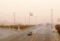 هشدار درباره رانندگی در گرد و غبار