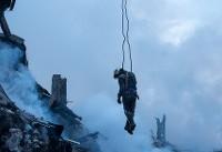 روایت آتشنشانی که معجزهآسا در پلاسکو زنده ماند