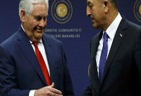 وزرای خارجه آمریکا و ترکیه تلفنی گفتوگو کردند
