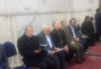 حضور لاریجانی در مراسم بزرگداشت شهدای سانچی