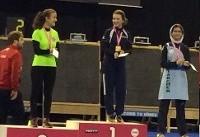کسب مدال برنز توسط کماندار نونهال در جام جهانی فرانسه