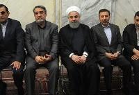 برگزاری مراسم یادبود شهدای بینشان/بهارستان داغدار شد+تصاویر