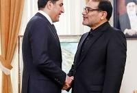 نخست وزیر اقلیم کردستان عراق با رئیس جمهوری ایران دیدار کرد