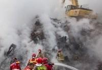 روایت آتش&#۸۲۰۴;نشانی که معجزه&#۸۲۰۴;آسا در پلاسکو زنده ماند
