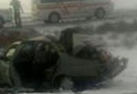 ۵ کشته و زخمی بر اثر تصادف در محور خرانق-یزد