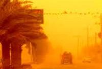 کاهش دید بهدلیل گرد و غبار در اکثر محورهای خوزستان