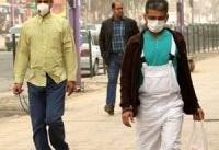 گردوغبار،۶۹۴ خوزستانی را به مراکز درمانی کشاند