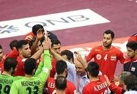 نخستین شکست ایران در جام ملتهای هندبال آسیا
