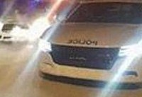 ماشین برفی درست کرد، پلیس را سرکار گذاشت (+عکس)