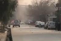 دفتر صندوق نجات کودکان در افغانستان هدف حمله قرار گرفت+تصاویر