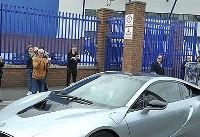 ستاره لیگ برتر انگلیس به این دلیل مجبور است اتومبیل خود را بفروشد +عکس
