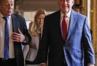 Tillerson finds skeptics as he presses EU allies on Iran deal