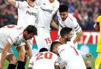 تیم سویا صعود کرد/ اتلتیکو مادرید از جام حذفی اسپانیا کنار رفت