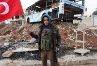 (تصاویر) عملیات نظامی نیروهای ترکیه در مرز سوریه