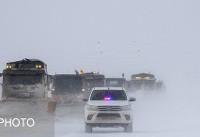 بارش باران، برف و مهگرفتگی در جادههای کشور