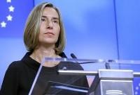 موگرینی: قصد اعمال تحریم های جدید علیه ایران را نداریم