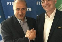 هدیه رئیس فیفا به تاج در روزهای حساس/ دو میلیون دلار برای ایران