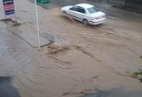 سیلاب و بارندگی در شمال غرب/هوای تهران صاف است
