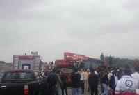 ۲ کشته و ۴۰ مصدوم در تصادف اتوبوس دانشآموزان دختر (+عکس)