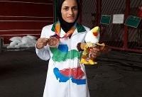 پرتاب آرزو حکیمی به طلا تبدیل شد/ طلای سی و چهارم برای ایران