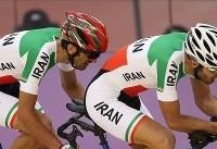 تیم ایران در ماده اسپرینت دوچرخه سواری به دیدار رده بندی رسید