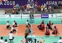 خلاصه فینال والیبال نشسته ایران - چین + فیلم