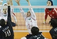 والیبال نشسته بانوان ایران نایب قهرمان پاراآسیایی ۲۰۱۸ شد