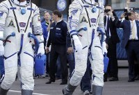 Astronauts safe after failed space launch, emergency landing in Kazakhstan