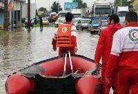 ۲۰۳ شهر و روستا در مازندران و گیلان درگیر سیل و آبگرفتگی