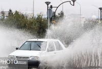بارش باران و وزش باد نسبتا شدید در اکثر مناطق کشور/ مهآلود شدن جادههای شمالی