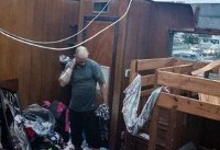 خسارت طوفان مایکل در آمریکا (+عکس)