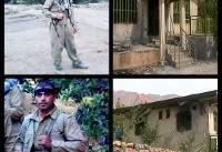 انهدام یک تیم تروریستی در کرمانشاه | تصاویر دو تروریستی که به هلاکت رسیدند