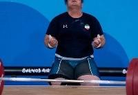 قهرمان وزنه برداری المپیک جوانان: باورم نمی شد طلا گرفتم/۲۱۸ کیلوگرم را در تمرینات نزده بودم