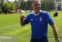 کیروش: فوتبال نباید دلیلی بر تفرقه شود/ میدانیم ارکستر انتقادها از ...