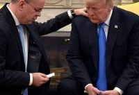 US pastor freed from Turkey prays with Trump at White House