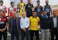 درخشش گنج خانلو در مرحله دوم لیگ برتر دوچرخهسواری پیست