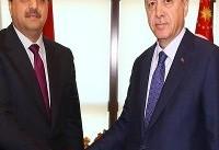دیدار و گفتگوی سران قطر و ترکیه