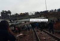 خروج قطار از ریل در مغرب | ۱۰۰ نفر کشته و زخمی شدند