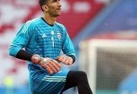 بیرانوند برای بازی مقابل تیم لیگ یکی از ترکیب پرسپولیس خارج شد