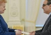 رییس جمهور لیتوانی خواستار گسترش روابط با ایران شد