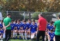 برگزاری آخرین تمرین تیم ملی فوتبال پیش از بازی با بولیوی