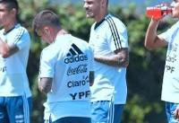 ادامه ناکامیهای دیبالا و ایکاردی در تیم ملی آرژانتین