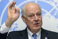 دی میستورا با مقامات ایران،روسیه وترکیه در مورد سوریه دیدارمیکند